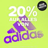 Nur heute: 20% auf alles von adidas bei Dosenbach, z.B. adidas Daily 2.0 Damen Sneaker für CHF 59.90 statt CHF 74.90