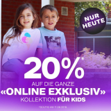 20% auf online exclusive Produkte für Kinder bei Dosenbach