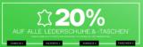 20% auf alle Lederschuhe und Taschen bei Dosenbach