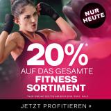 Nur heute: 20% auf Fitnessartikel bei Dosenbach, z.B. Nike Vapor Sprint Sporttasche für CHF 31.90 statt CHF 39.90