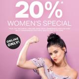 Nur heute: 20% auf die Online-Exklusiv-Damenkollektion sowie Damenhandtaschen bei Dosenbach