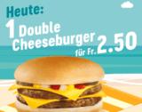 Double Cheeseburger bei McDonalds für 2.50