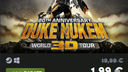 90% Rabatt auf das Spiel Duke Nukem 3D: 20th Anniversary World Tour für 1,99€ (Steam) im Humble Store