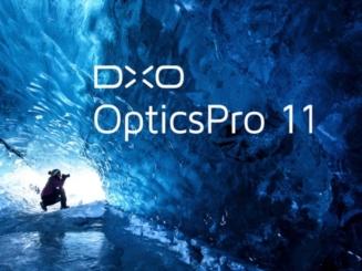 Bildbearbeitungsprogramm DxO OpticsPro 11 Essential für Mac und Windows gratis