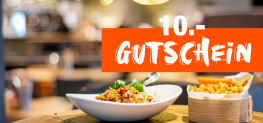 10.- Gutschein für Negishi, Butcher, Miss Miu, Nooch & Kitchen (MBW: 40.-)