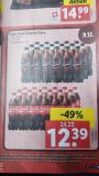 Coca Cola Classic/Zero – 49%