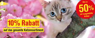 Qualipet: 10% Rabatt auf das ganze Katzensortiment + gratis Goodies ab MBW CHF 20.-