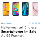 Smartphone Sale bei Galaxus