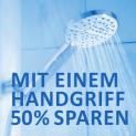 Wassersparende Duschbrause für Fr. 10.–