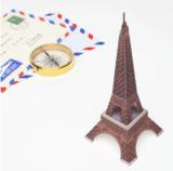 Zum Basteln: 76 Modelle berühmter Bauten (Eiffelturm, Tower Bridge) gratis