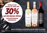 30% auf Epicuro Weine bei Denner (nur Freitag und Samstag)