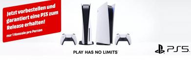 PS5 jetzt vorbestellbar und Erhalt bei Release garantiert!