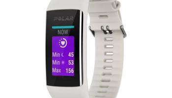 POLAR A370 Fitness- & Activity Tracker (Weiss) zum Bestpreis