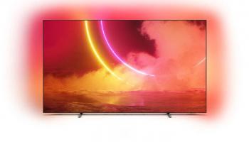 Philips 55OLED805/12 Ambilight-OLED-Fernseher mit Android TV bei MediaMarkt und Interdiscount