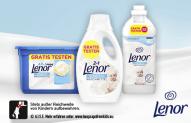 Cashback auf Lenor Sensitive Waschmittel und Weichspüler bei Lenor