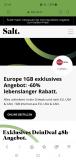 Salt Europe 1GB (24 Monate Vertragsdauer)