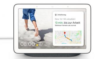 Google Nest Hub Carbon bei Digitrends