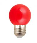 LED Glühbirne in zufälliger Farbe für 40 Rappen