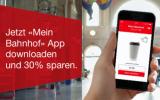 30% Rabatt auf alle Produkte von SBB FastLane (nur HB Zürich)