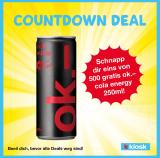 kkiosk – Schnapp dir eins von 500 gratis ok.- cola energy 250ml