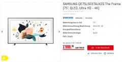 Samsung 75″ THE FRAME zu CHF 1'999.-