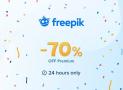 70% Rabatt auf das Freepik Jahresabo auf Vektor Grafiken und Stock Fotos