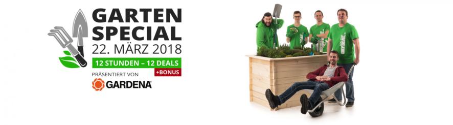 DayDeal Garten Special ab heute 09.00 Uhr