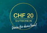 CHF 20.- Rabatt ab CHF 100.- Einkauf bei Geschenkidee.ch