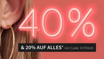 40% Glam Deals bei Glambou