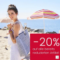 "20% auf reduzierte Artikel bei Ackermann, z.B. Buffalo Bikini-Hose ""Happy"" in knapper Brasilien-Form für CHF 27.92 statt CHF 34.90"