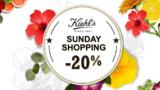 Nur heute 20% auf Produkte von Kiehl's bei Manor