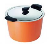 KUHN RIKON Hotpan Servierkochtopf (Orange, 5.0L /22 cm) bei Galaxus zum Bestpreis von CHF 119.-