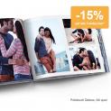 Nur heute: 15% auf alle Fotobücher, Fotogrusskarten, Fotogeschenke und Wanddekorationen bei ifolor