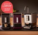 Tchibo Kaffeevollautomat »Esperto Caffè« + 1KG Barista