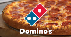 50% auf alle Pizzas bei Dominos [Only DELIVERY]