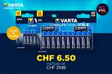 Varta Long Life Power Batterien 12 x AA + 12 x AAA