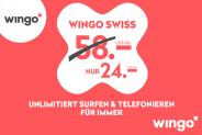 Wingo Swiss für CHF 24.- lebenslang
