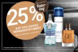 25% Rabatt auf das ganze Herrensortiment bei der Import Parfumerie