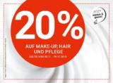 20% auf Make-Up, Hair und Pflege bei der Import Parfumerie