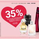 35% auf alles von Bulgari, Burberry, Kenzo und Roberto Cavalli bei Import Parfumerie, z.B. Burberry My Burberry EdP 30 ml für CHF 44.90 statt CHF 77.90