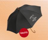 Gratis Regenschirm bei interio abholen bei Vorzeigen des Newsletter
