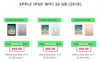 APPLE iPad 2018 WiFi, 9.7″, 32 GB (Space Grau, Silber, Gold) bei microspot zum Bestpreis von CHF 289.-