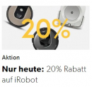 20% Rabatt auf iRobot bei Galaxus
