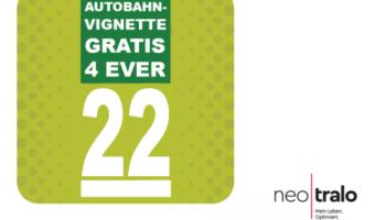 Jedes Jahr gratis Autobahn-Vignette erhalten durch Maklercashback bei neotralo