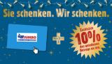 JUMBO Geschenkkarten mit kostenlosem 10% Zusatzguthaben