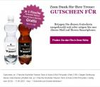 1 Flasche Knutwiler Wasser Tonic & Kola gratis für NL-Abonnenten beim Rio Getränkemarkt