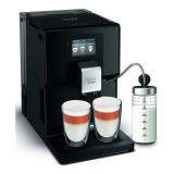 Kaffeemaschine Krups EA8738CH Intuition Preference inkl. Milchpot Schwarz