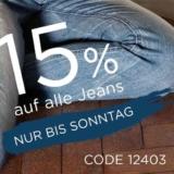 Nur heute: 15% auf Jeans bei heine, z.B. B.C. Best Connections Jeans im Used-Look für CHF 84.92 statt CHF 99.90