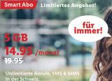 LIDL Mobile (Salt Netz) Promo 14.95/Monat Unlimited Calls/SMS & 5GB Data