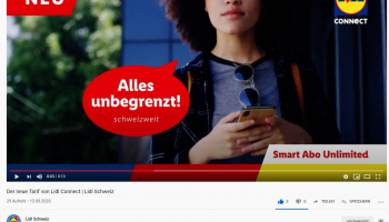 Lidl connect unlimited (inkl. unlimitiert Internet)